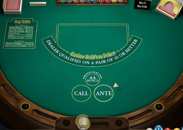Zasady Casino Hold'em