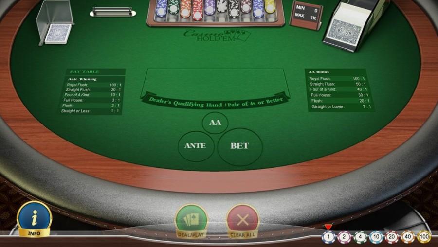 Strategie Casino Hold'em