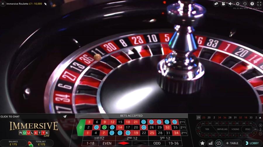 Ruletka Immersive Roulette