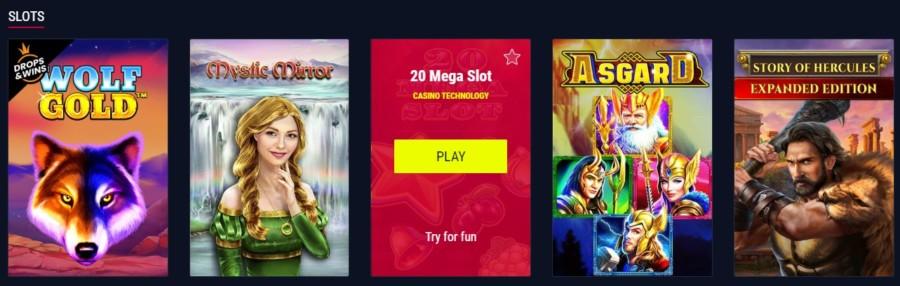 Automaty do gier online Rabona