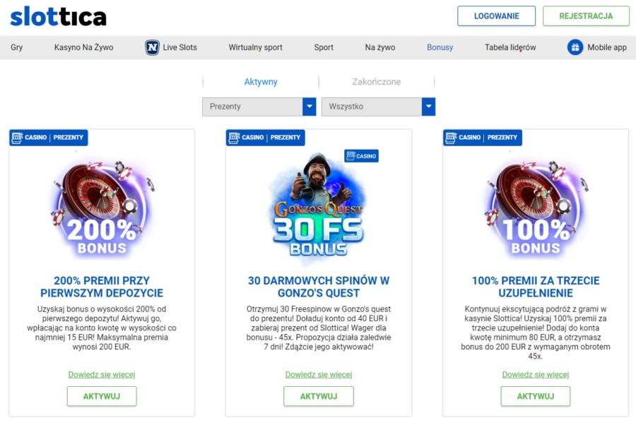 Promocje kasyn online